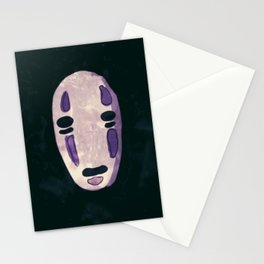 Mysterious No Face Stationery Cards