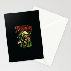 Legend of Zombie Stationery Cards