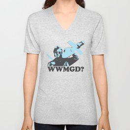 What would MacGyver Do? Unisex V-Neck