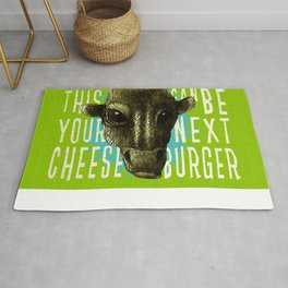 this could be your next cheeseburger Rug