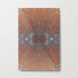 Lung Metal Print