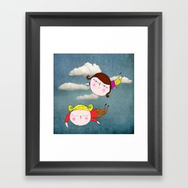 Volemos Framed Art Print