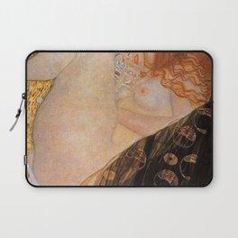 Danae Portrait Painting by Gustav Klimt Laptop Sleeve