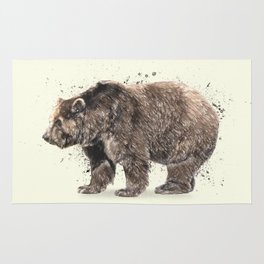 Bear Drawing Rug