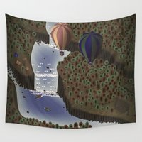 forrest Wall Tapestries featuring The forrest by Soak