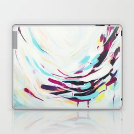 The Healer - Abstract painting #society6 Laptop & iPad Skin