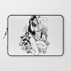 Nerd Girl Laptop Sleeve