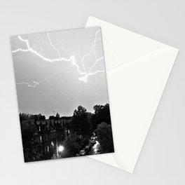 Lightning over Aigburth Stationery Cards