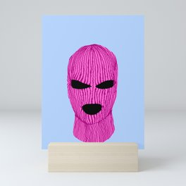 Pink Creep Mini Art Print