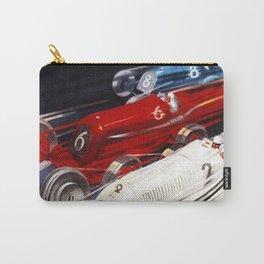 1934 12th Italian Grand Prix Grand Premio d'Italia Monza Plinio Codognato Vintage Poster Carry-All Pouch
