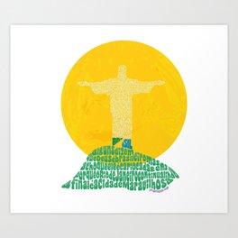 Cristo Redentor - Rio de Janeiro Art Print