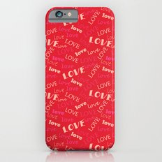 Valentine love 2 iPhone 6s Slim Case