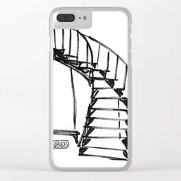 stair Clear iPhone Case