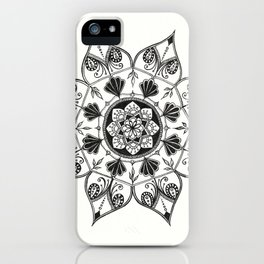 In the beginning it was all black and white. iPhone Case