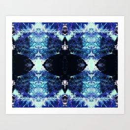 Nashira - Abstract Costellation Painting Art Print