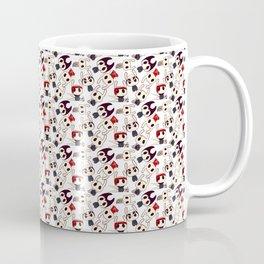 Hollow Knight Pattern NPC Coffee Mug