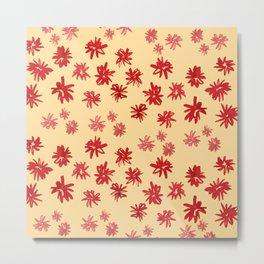 Flowerfield Metal Print