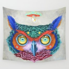 Rough Landing Wall Tapestry