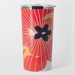 Johnny Appleseed - painting of apple blossom seeds floral Travel Mug