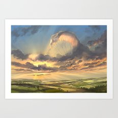 made of air Art Print