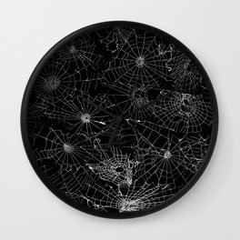 cobwebs Wall Clock