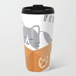 If It Fits, I Sits! Travel Mug