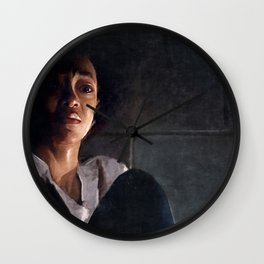 Sasha In Her Final Resting Place - The Walking Dead Wall Clock