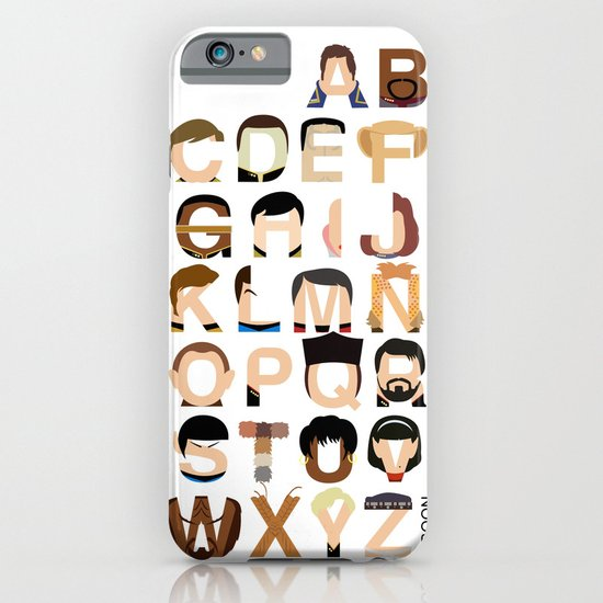 Star Trek Alphabet iPhone & iPod Case