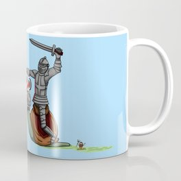 The Knight and the Snail - Random edition Coffee Mug