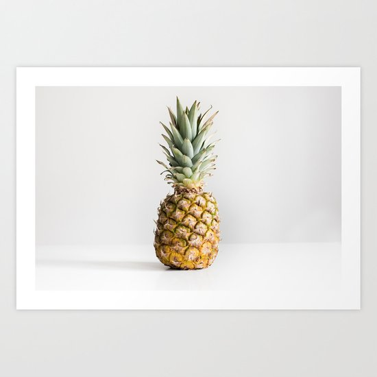 Ananas photo Art Print