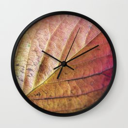 Autumn Colours II Wall Clock