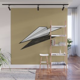 Paper Airplane 2 Wall Mural