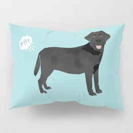 Black Lab funny fart dog breed gifts labrador retrievers Pillow Sham