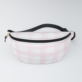 Light Pink Gingham Fanny Pack