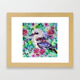 Ruffled Feathers Framed Art Print