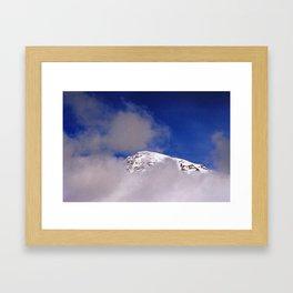 Mountain top Framed Art Print