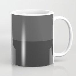 Simplicism - Minimalism - Black Coffee Mug