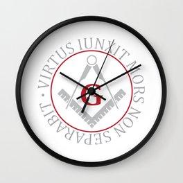 Freemasonry symbol Wall Clock