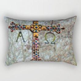 Asturias Christ's cross Rectangular Pillow
