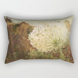 Queen Anne's Lace Sunset Rectangular Pillow