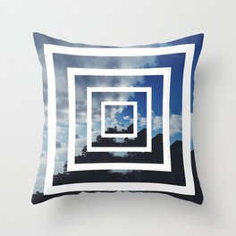 SKY ILLUSION Throw Pillow