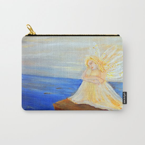 Invite your Angel | Angels are here Carry-All Pouch