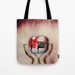 Apple flower Tote Bag