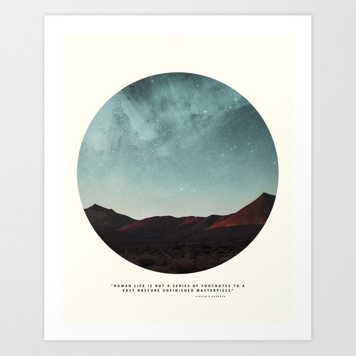 Universe remedy Art Print