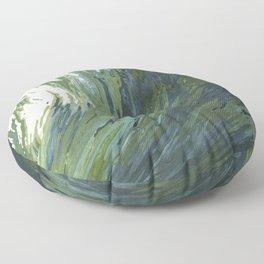 Big Pacific Ocean Wave Floor Pillow