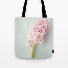 Textured Hyacinth Tote Bag