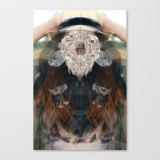 Birth//Death//Rebirth Canvas Print