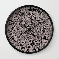 Hidden In the Leaves Wall Clock