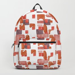 Watercolor Geometric Pattern Backpack
