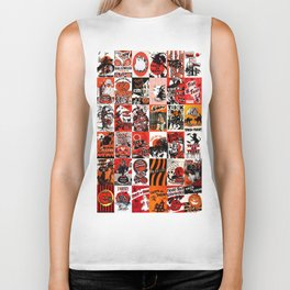 Halloween : Trick Or Treat, Smell My Feet, Gimmie Something Good To Eat. Biker Tank